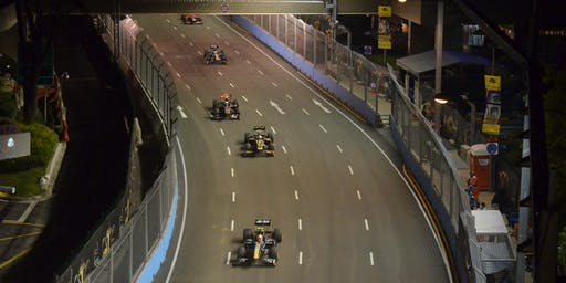 Above the Grand Prix Track 2019!