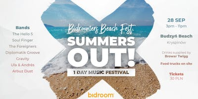 Bidroomers Beach Fest  (Summers OUT)