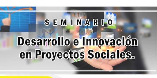 Seminario Desarrollo e Innovación en Proyectos Sociales.