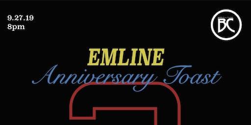 Emline 2nd Anniversary Toast