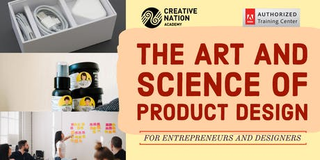 The Art and Science of Product Design for Entrepreneurs and Designers tickets