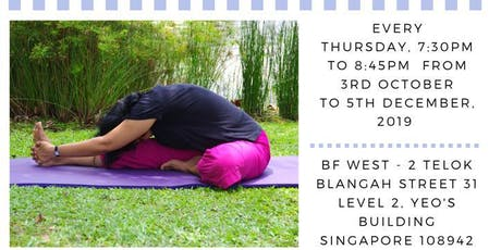 4Q2019 Yin Yoga for Meditation (Oct - Dec 2019) tickets