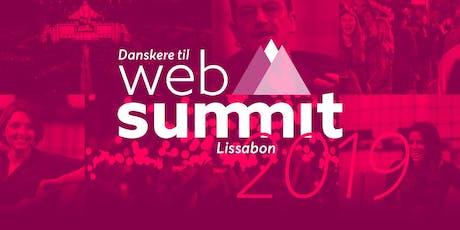 Danskere til Web Summit - Meet up på Topo Roof Top Bar tickets