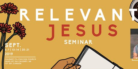 Relevant Jesus: A Seminar with Jonathan Paul Deximo tickets