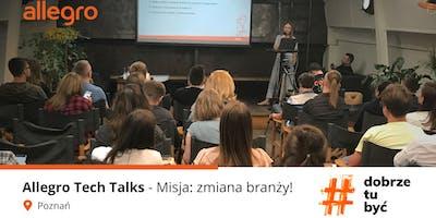 Allegro Tech Talks - Misja zmiana branży #5 Poznań