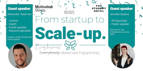 From startup to Scale-up tickets