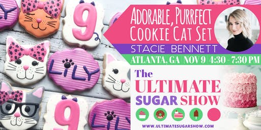 Adorable, Purrfect Cookie Cats with Stacie Bennett