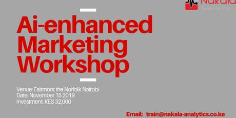 Ai-enhanced Marketing Workshop tickets