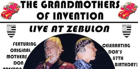 The Grandmothers LIVE! + DJ Jesse Justice tickets