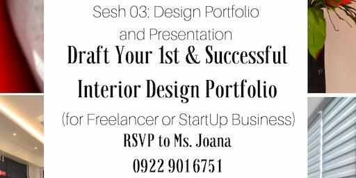 Draft Your 1st & Successful Interior Design Portfolio