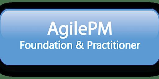 Agile Project Management Foundation & Practitioner (AgilePM®) 5 Days Training in Wellington