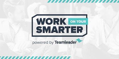 Work Smarter on Tour - Antwerpen - Powered by Teamleader billets