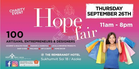 The Hope Fair - Back from Summer Break 2019! tickets