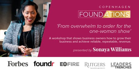 Foundations Workshop: From overwhelm to order for the one-woman show. tickets
