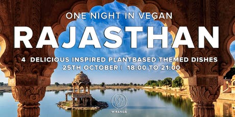 One Vegan Night in  Rajasthan tickets