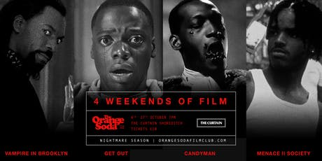 "The Orange Soda Film Club ""Nightmare Season"" tickets"