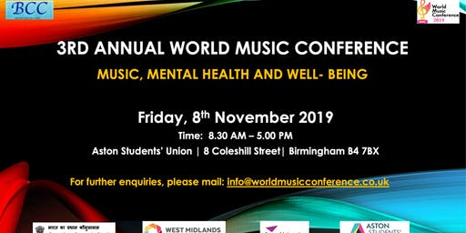 3rd Annual World Music Conference