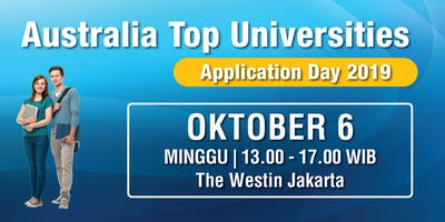 Australia Top Universities - Application Day 2019