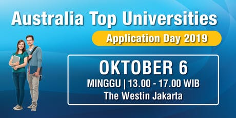 Australia Top Universities - Application Day 2019 tickets