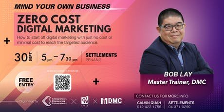 Mind Your Own Business: Digital Marketing (SEP PG) tickets