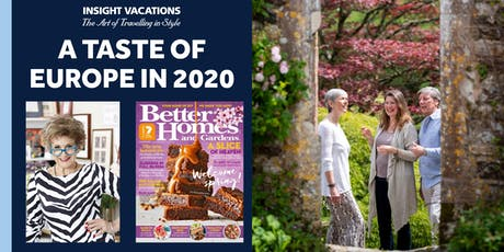 A Taste of Europe and Britain in 2020 tickets