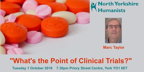 """What's the Point of Clinical Trials?""  tickets"