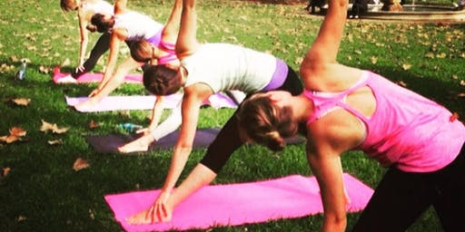 Smooth R & B Yoga - PartygirlYogaNY Pop Up