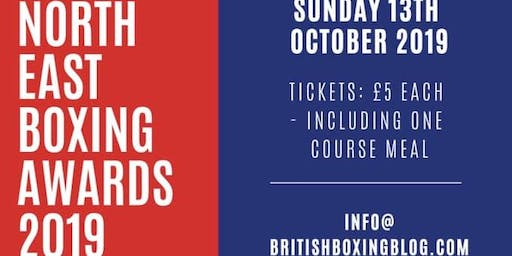North East Boxing Awards 2019