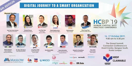 Human Capital Best Practices (HCBP) Conference 2019