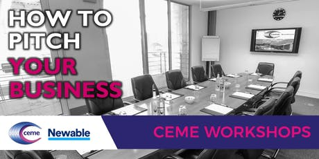 How to Pitch Your Business- Presented by Newable tickets