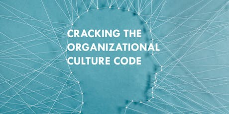 Cracking the Organizational Culture Code tickets