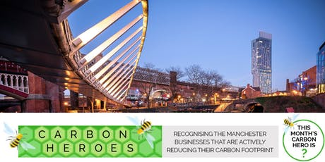 MPostcode Networking Event and Carbon Hero award. tickets