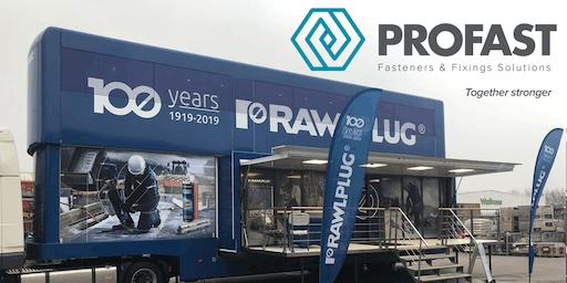 Profast - Rawlplug Global Academy Truck visits Northern Ireland - Belfast