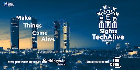 Sigfox TechAlive entradas