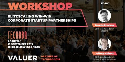 Workshop: Blitzscaling Win-Win Corporate Startup Partnerships