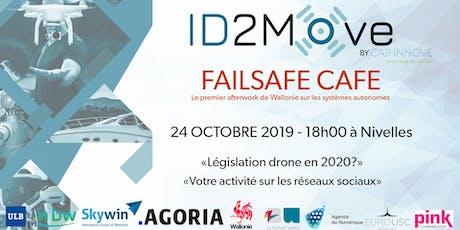 Failsafe Café - Soirée de networking sur les drones billets