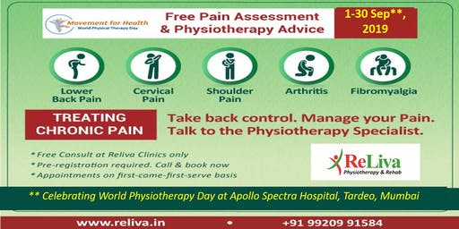 Tardeo, Mumbai: World Physiotherapy Day Special Offer