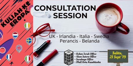CONSULTATION SESSION STUDY IN EUROPE tickets