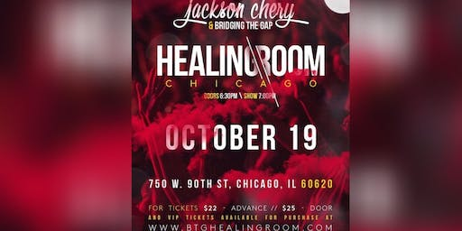 Jackson Chery & Bridging the Gap: Healing Room in Chicago