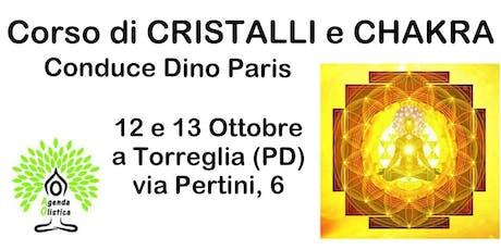 Corso di Cristalli e Chakra biglietti
