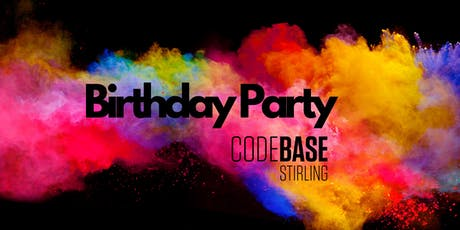 CodeBase Stirling Birthday Party tickets
