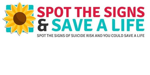 Spot the Signs Suicide Prevention Training Stevenage