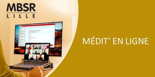 MBSR Lille - Médit'en ligne - Pratiquez là où vous êtes avec un instructeur