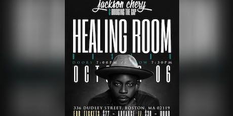 Jackson Chery & Bridging the Gap: Healing Room in Boston tickets