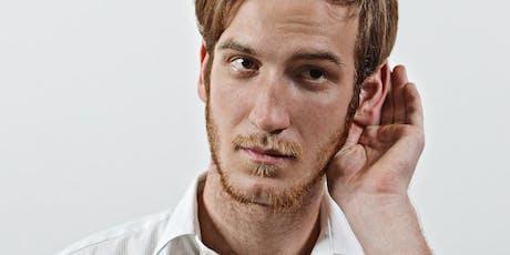 Expert Talk: Wer hören kann, der kann ja wohl auch zuhören Tickets