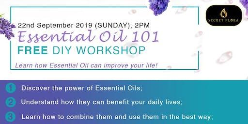 Essential Oil 101 DIY Workshop