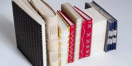 Decorative Spine Sketchbook Workshop tickets