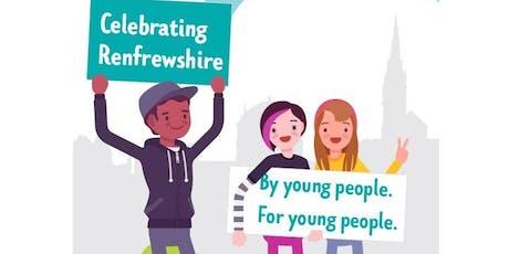 Celebrating Renfrewshire announcement  event tickets
