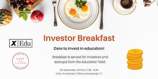 Investor Breakfast