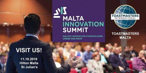 Free Impromptu Speech Workshop at Malta Innovation Summit